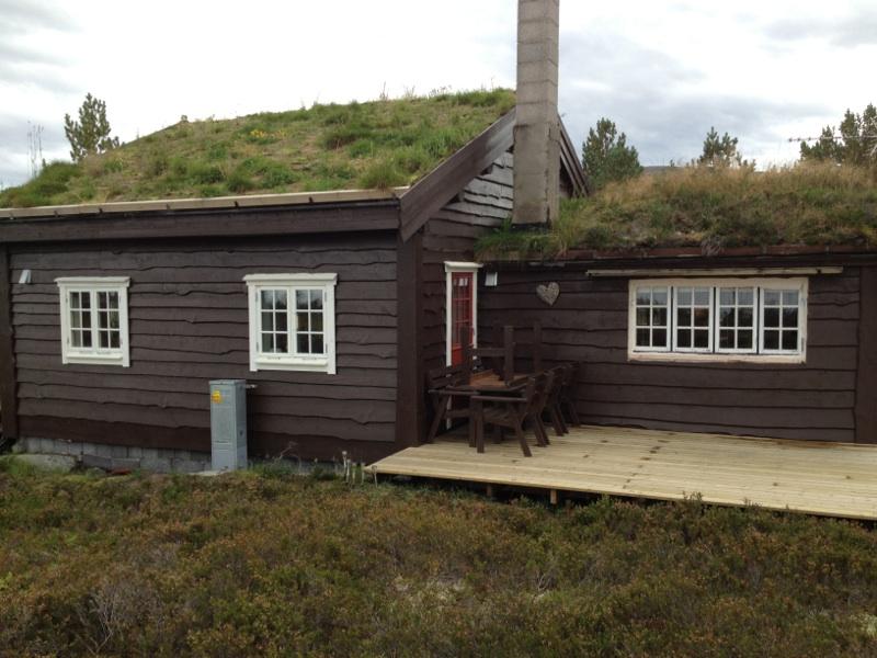 Hytte Trollstua i Aure Kommune, påbygg.